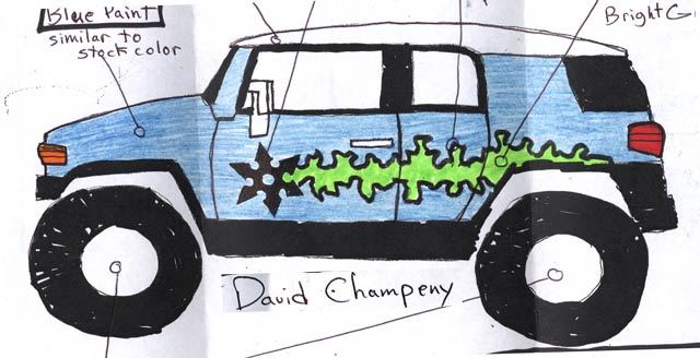 131 0610 z+2006 ua fj paint+Champeny David
