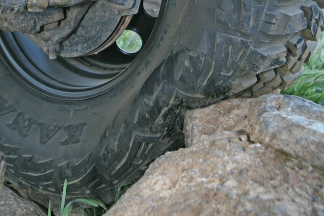 Why Lowering Tire Pressure Helps Off-Road Traction