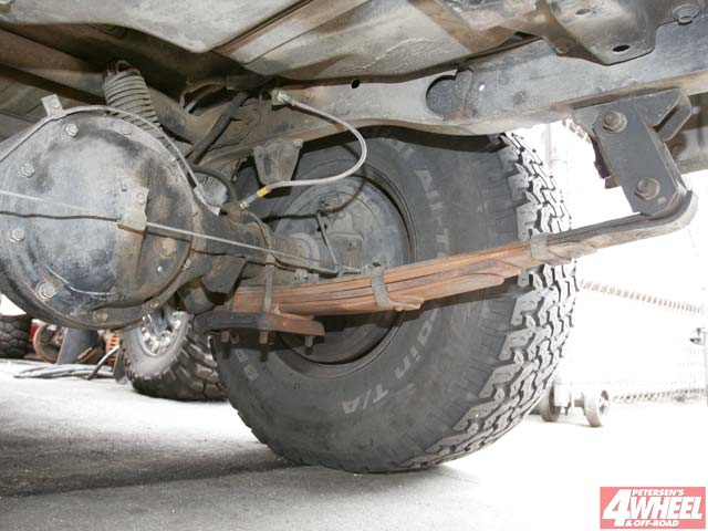 131 0604 ome 10 z +1985 toyota land cruiser+ flat rear springs