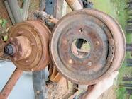 154 0609 05 z+jeep cj disk brake conversion+drum comparison