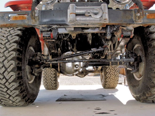 Dana 44 High Steer Conversion - Knuckle Up
