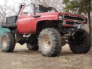 129 0704 42 Z+2007 Top Truck Challenge Finalists+1984 Chevy K30