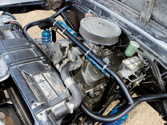 1972 Chevy Blazer engine Photo 9250132