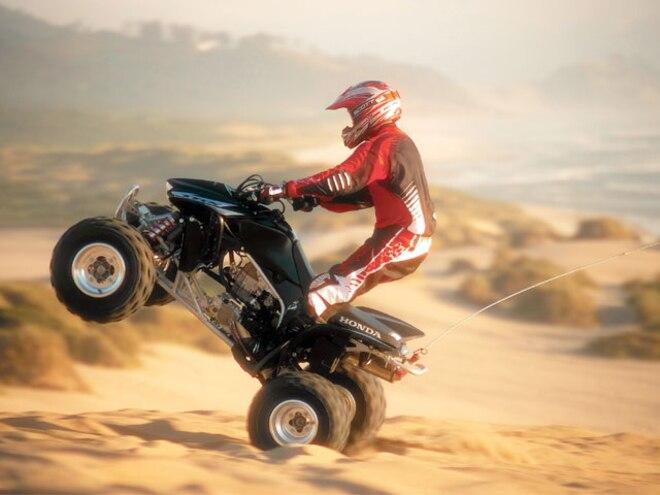 2006 Honda TRX450R ATV