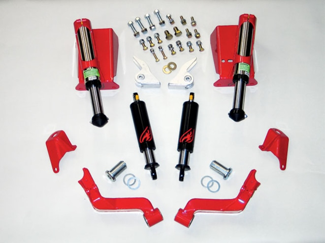 2005 GMC Duramax Jounce Shocks - New Standards In Mobility