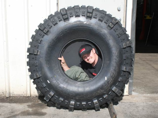 Tire Test - Interco 54-inch TSL Bogger