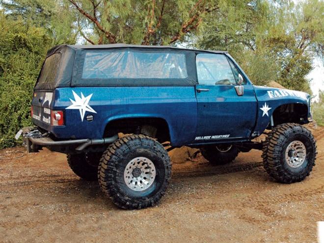 Chevy K5 Blazer Specialty Top Company