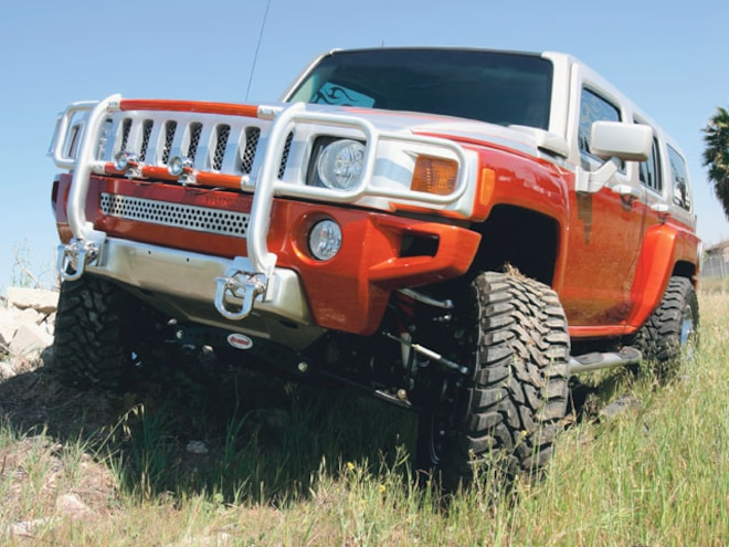 Hummer H3 Rancho - Fitting 37s on an H3