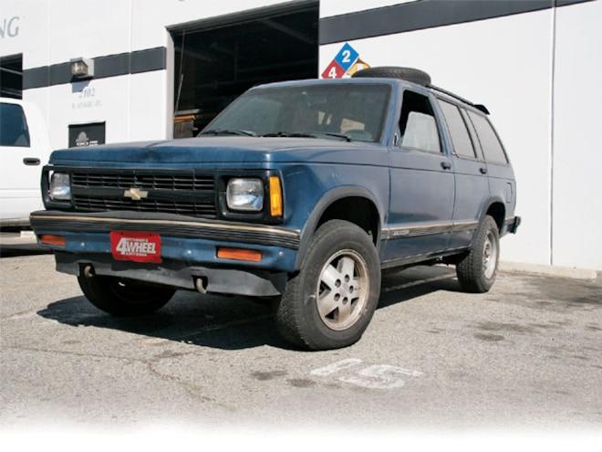 1989 chevy s10 horsepower
