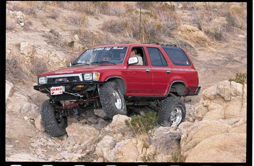 Solid-Axle Swap: Toyota 4Runner - Technical Articles - Four