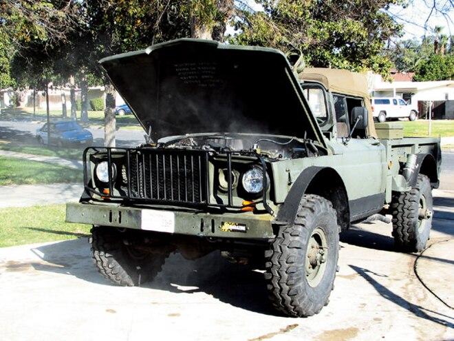 Trasborg's Kaiser M715 - Universal Jeep Cooling