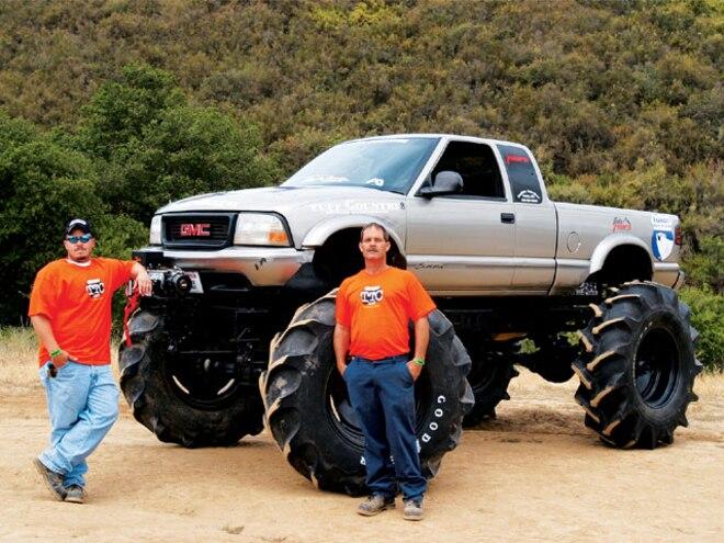 1998 GMC Sonoma - 2007 Top Truck Challenge Competitor