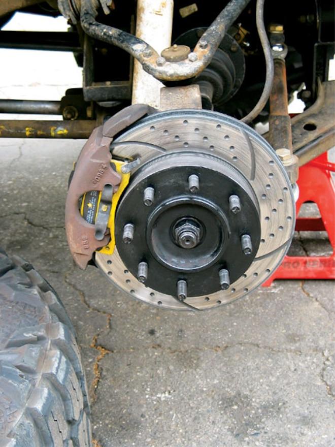 1991 Chevy Truck EBC Brakes - Bulletproof Brakes