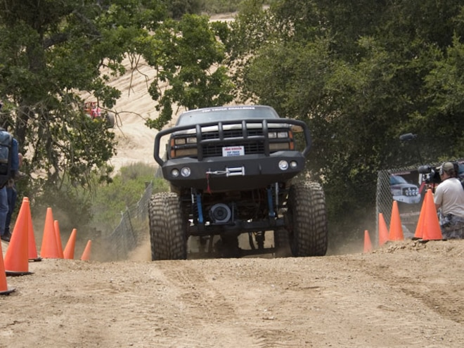 Tow Test - Top Truck Challenge 2007