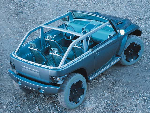 jeep Willys Concept high Rear Side View Photo 9307922