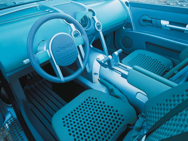 jeep Willys Concept front Interior View Photo 9307925