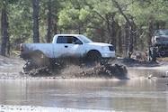 trucks gone wild south berlin mud ranch ford pickup truck driving through mud