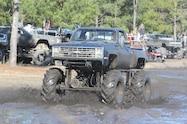 trucks gone wild south berlin mud ranch1985 chevrolet stepside driving through mud