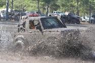 trucks gone wild south berlin mud ranch jeep wrangler driving through mud