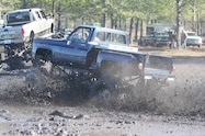trucks gone wild south berlin mud ranch ford truck driving though mud