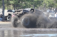 trucks gone wild south berlin mud ranch van driving through mud