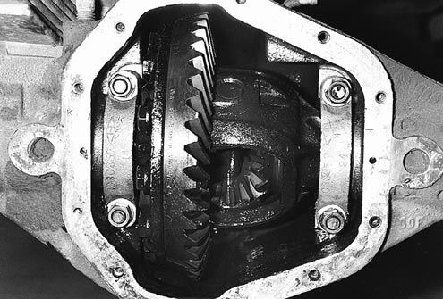 Swapping gear ratios for a lower set (higher numerically) can increase the torque multiplication of your rig tremendously. Lower gears also offset bigger tires and weak transmission and transfer case ratios, and can even improve fuel economy. Bigger engines can handle higher gears, but the smaller mills really need the low cogs.