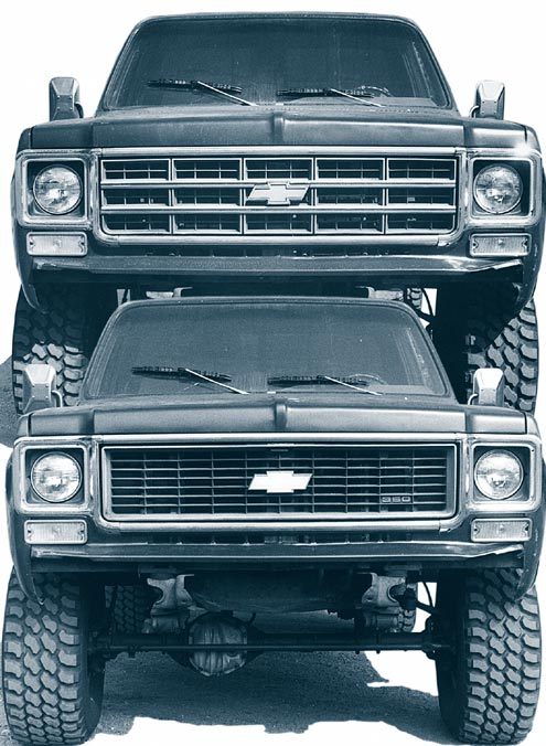 1973 - 1980 Chevy Grille Swap And Front Clip Conversion - 4