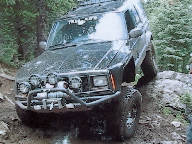 1999 Jeep Cherokee Xj front Angle Photo 9338815