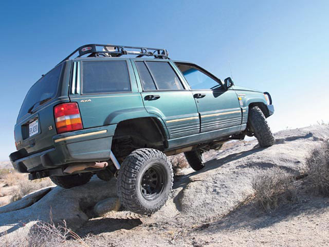 1994 Jeep Grand Cherokee Suspension System Upgrade