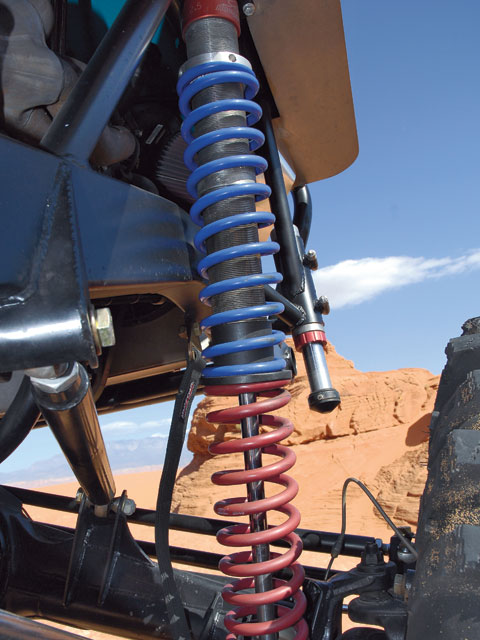 0802 4wd 01 z+1951 jeep cj 2a+sway a way coilover shot