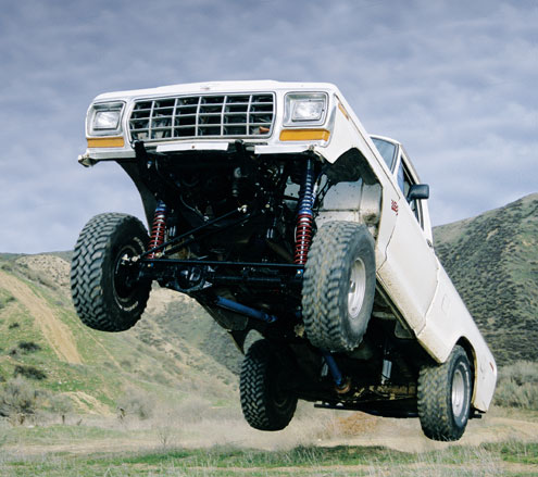 131 large+Chevrolet Truck+Front Side Offroad Jumping