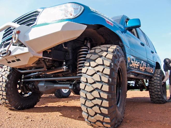 Toyota Land Cruiser Axle Upgrade - Purebred