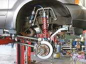 Ford Super Duty Coilover Conversion - Four Wheeler