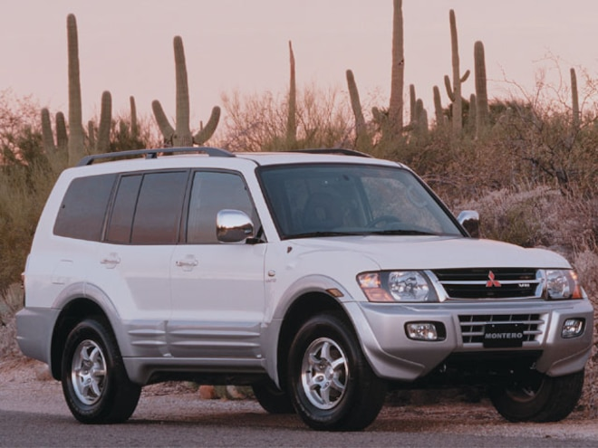 2001 Mitsubishi Montero - Back Country Tested