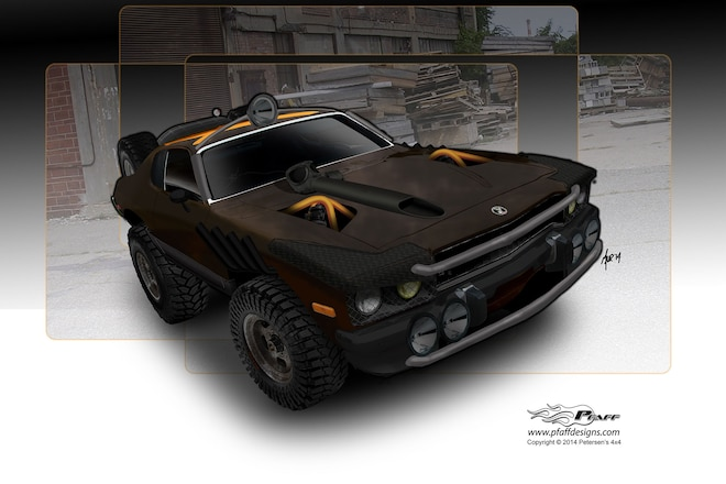 We Build a 1973 Plymouth Road Runner Off-road Muscle Car
