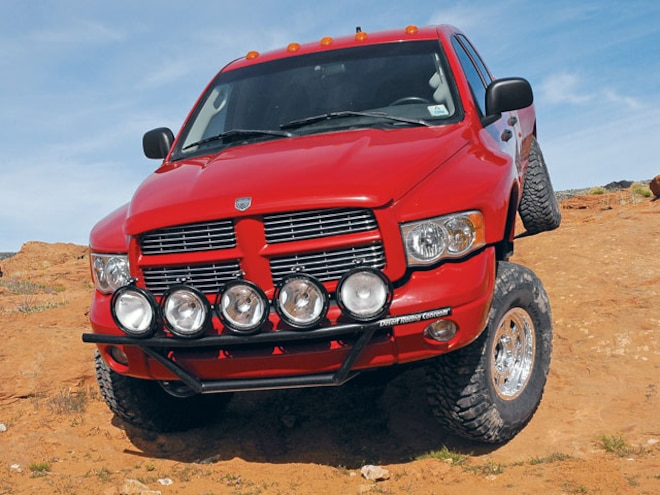 2003 Dodge Ram 4x4 - Big Red