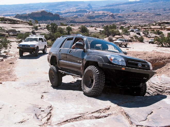 Off-Road Adventures - Moab 4Runner Foray