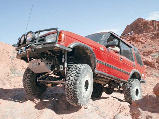 1996 Land Rover Discovery - Red Rover, Red Rover