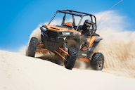 RZR XP Turbo EPS: A Mud And Sand Slinger With A 'Tude
