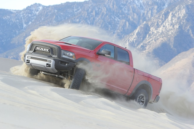 Barlow/Jacobsen Team Will Race A 2016 Ram Rebel in Inaugural Rebelle Rally