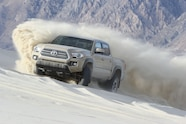 2016 toyota tacoma in sand dunes