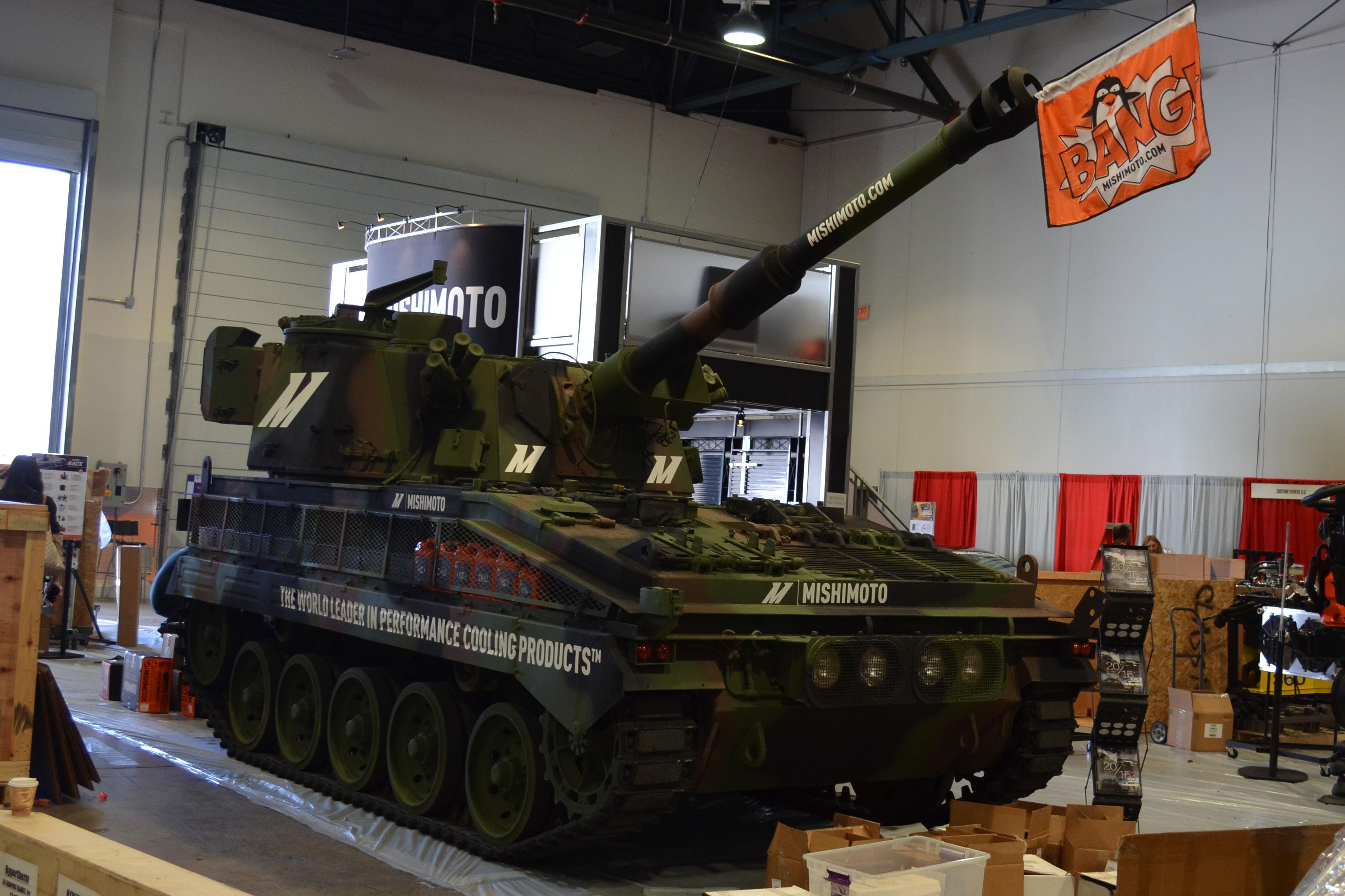 2015 SEMA Show Monday tank