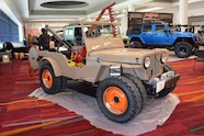 2015 SEMA Show Monday vintage working willys