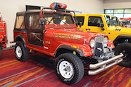2015 SEMA Show Monday polie jeep