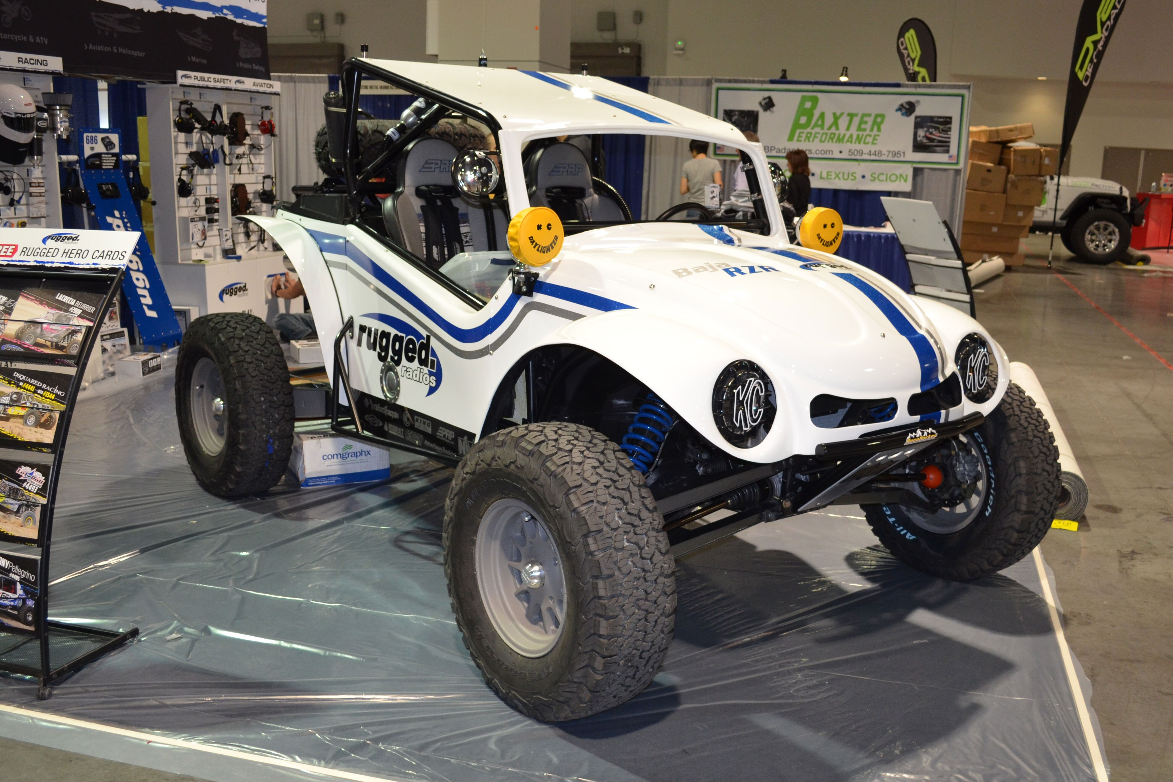 2015 SEMA Show Monday yamaha yxz1000r rugged vw