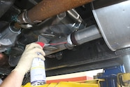 008 magnaflow dodge wd40 lubricating up angle