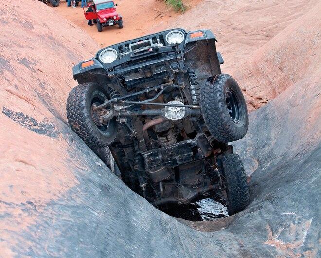 4-Wheel & Off-Road Staff Whoops! - Moab Memories