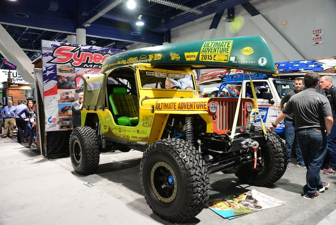 Our Favorite Old Jeep Iron From 2015 SEMA