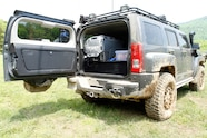 010 two hummers 2009 h3 alpha rear storage