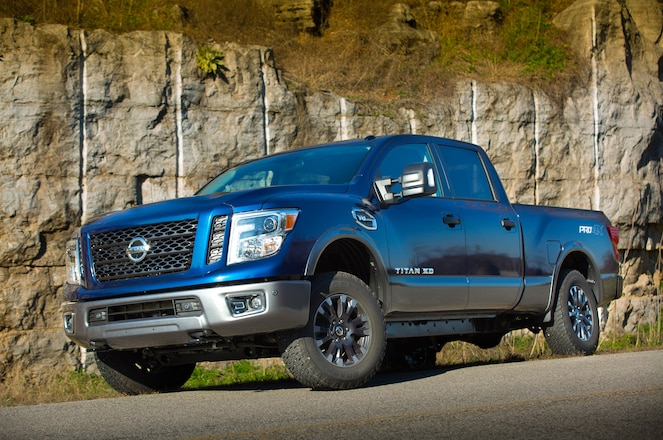 Official: 5.6L V-8 in new Titan, Titan XD to Make 390 hp, 401 lb-ft